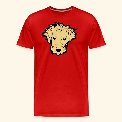 Wuschelhund, Kerlie - Männer Premium T-Shirt