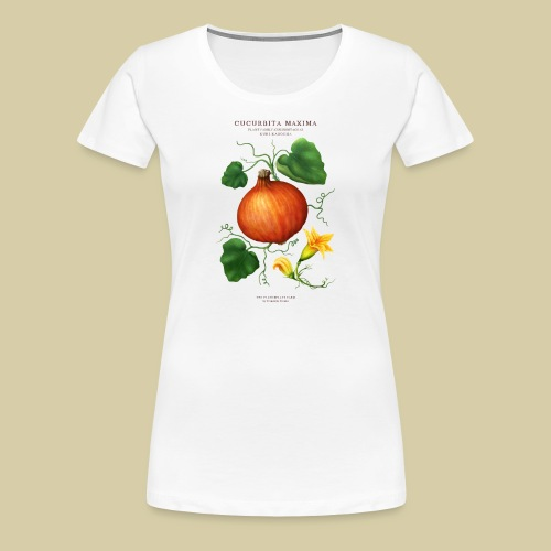 BBQ THE PLANTSPLATE FARM - Cucurbita Maxima - Frauen Premium T-Shirt