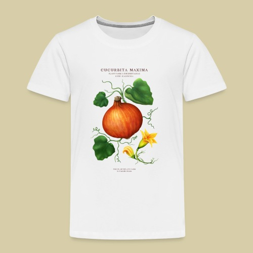 BBQ THE PLANTSPLATE FARM - Cucurbita Maxima - Kinder Premium T-Shirt