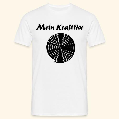 Krafttier, Kontrast - Männer T-Shirt