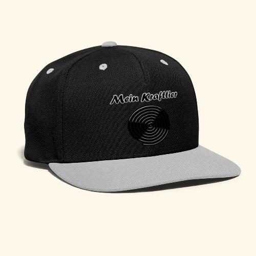 Krafttier, Kontrast - Kontrast Snapback Cap