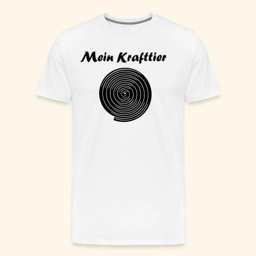 Krafttier, Kontrast - Männer Premium T-Shirt