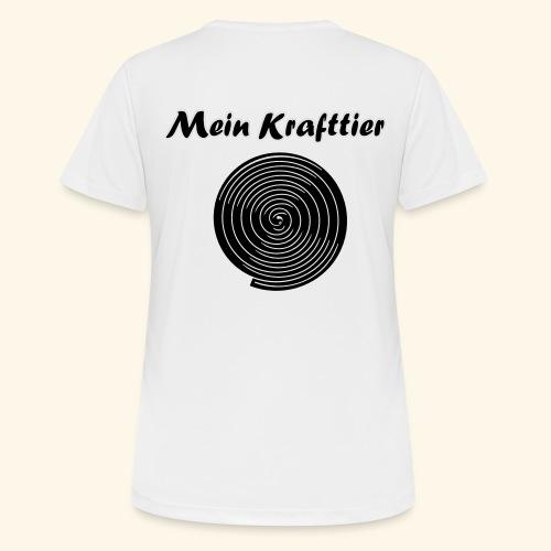Krafttier, Kontrast - Frauen T-Shirt atmungsaktiv