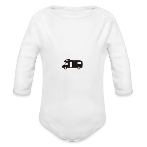Motorhome water bottle - Longlseeve Baby Bodysuit