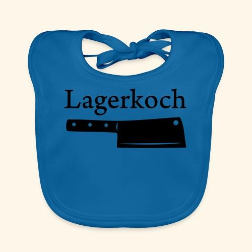 Lagerkoch - Burschen - Baby Bio-Lätzchen