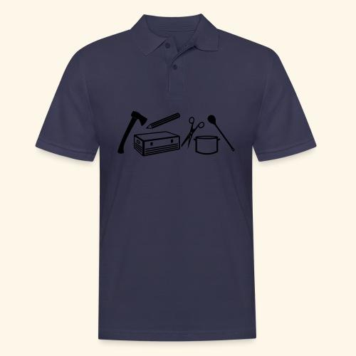 Materialwart - Burschen - Männer Poloshirt