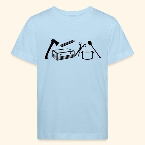 Materialwart - Burschen - Kinder Bio-T-Shirt