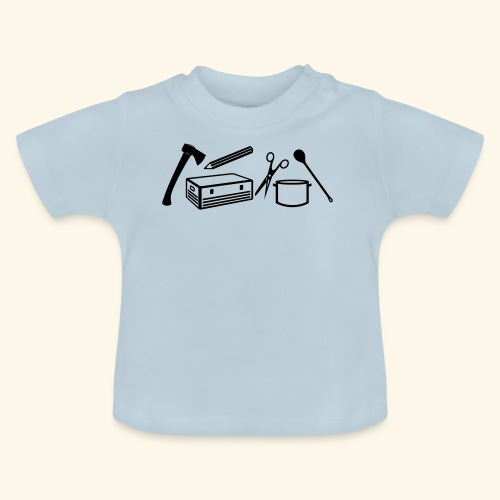 Materialwart - Burschen - Baby T-Shirt