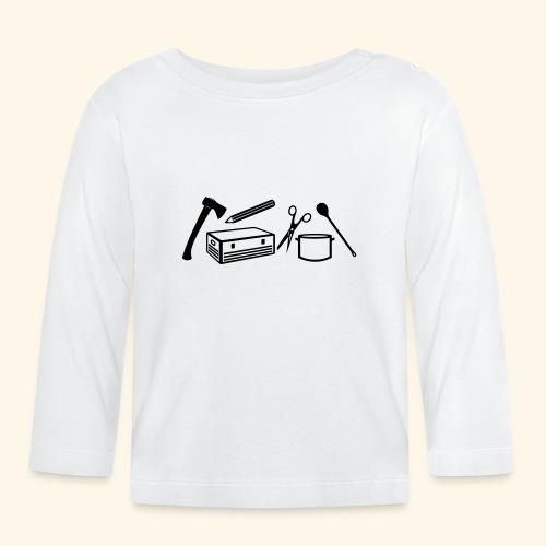 Materialwart - Burschen - Baby Langarmshirt