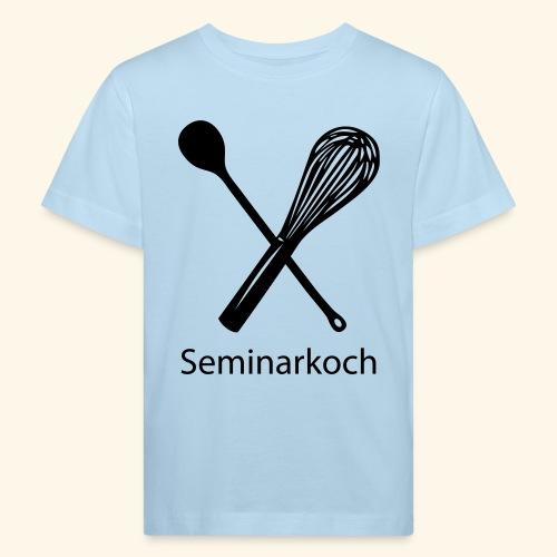 Seminarkoch - Burschen - Kinder Bio-T-Shirt