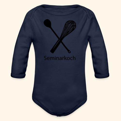 Seminarkoch - Burschen - Baby Bio-Langarm-Body