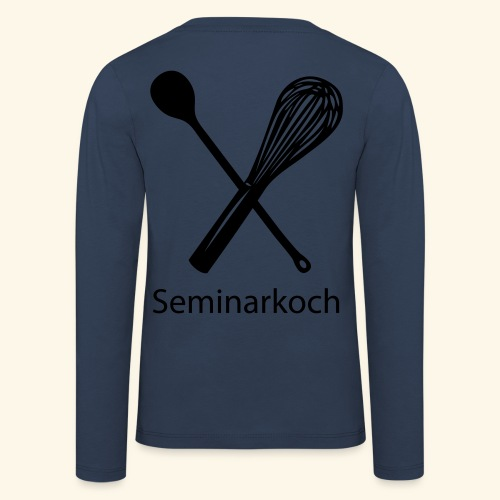 Seminarkoch - Burschen - Kinder Premium Langarmshirt