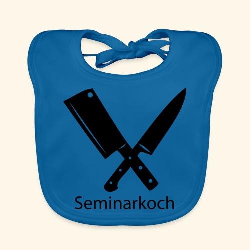 Seminarkoch - Burschen - Baby Bio-Lätzchen