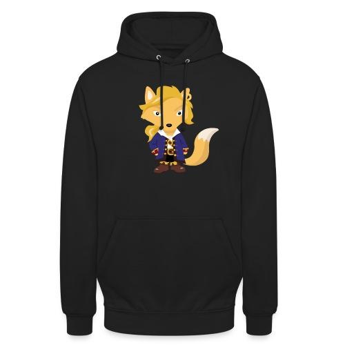 Renard Guybrush - T-shirt Geek - Sweat-shirt à capuche unisexe