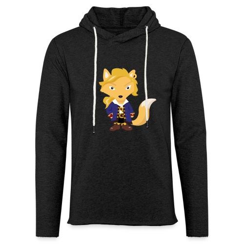 Renard Guybrush - T-shirt Geek - Sweat-shirt à capuche léger unisexe