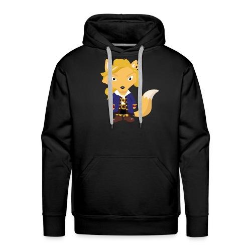 Renard Guybrush - T-shirt Geek - Sweat-shirt à capuche Premium pour hommes