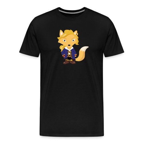 Renard Guybrush - T-shirt Geek - T-shirt Premium Homme