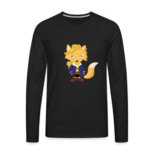 Renard Guybrush - T-shirt Geek - T-shirt manches longues Premium Homme