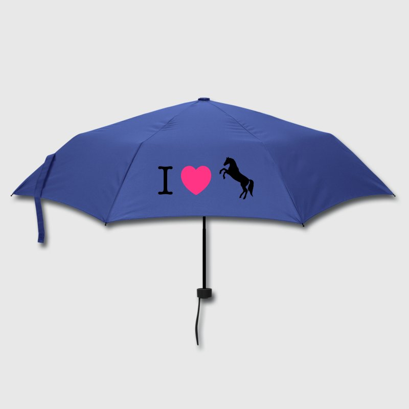 I love Ponies wild horse - this design lets you change all colours Umbrellas - Umbrella (small)