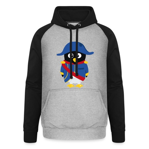 Pingouin Napoléon - T-shirt Gamer - Sweat-shirt baseball unisexe