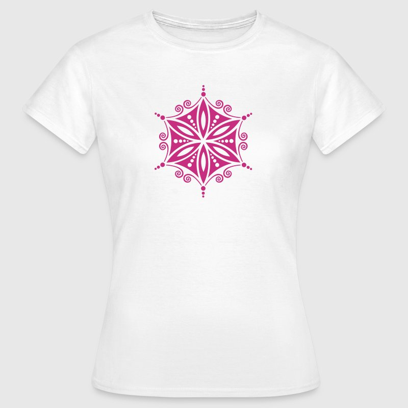 Flower of Aphrodite, c, Symbol of  love, beauty and transformation, Power Symbol, Amulet, Flower of Life / Camisetas - Camiseta mujer