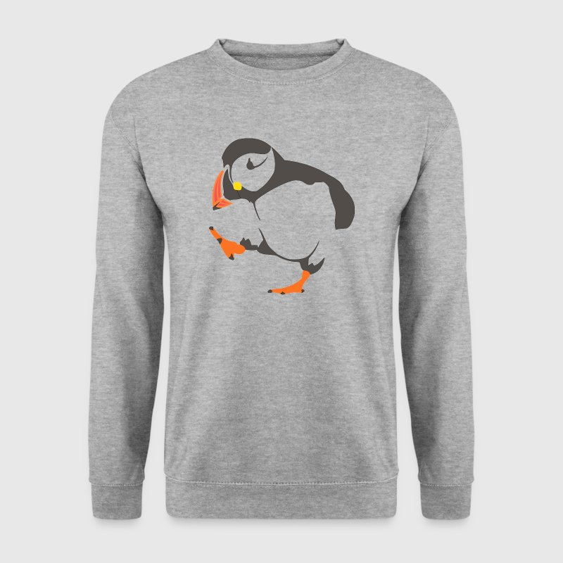 Walking  puffin Hoodies & Sweatshirts - Men's Sweatshirt