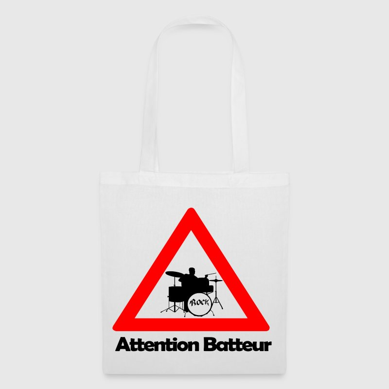 Attention batteur Sacs - Tote Bag