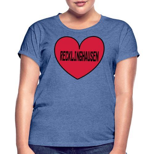 Recklinghausen Herz - Männer Kapuzenpulli - Frauen Oversize T-Shirt