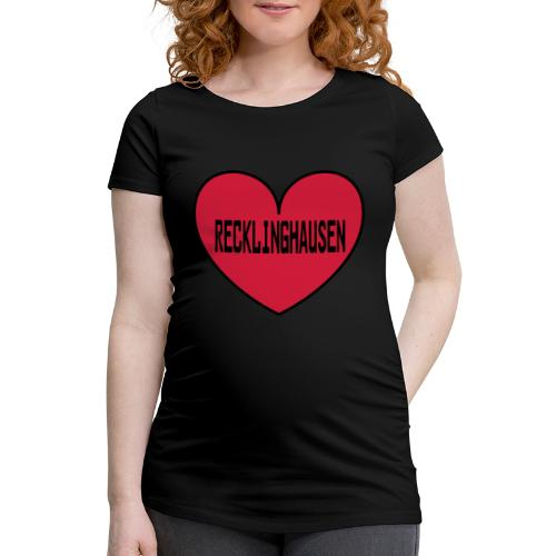 Recklinghausen Herz - Männer Kapuzenpulli - Frauen Schwangerschafts-T-Shirt