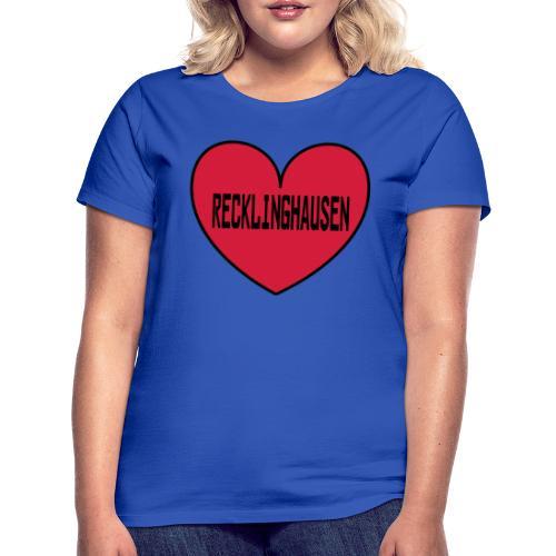 Recklinghausen Herz - Männer Kapuzenpulli - Frauen T-Shirt