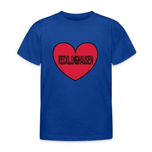 Recklinghausen Herz - Männer Kapuzenpulli - Kinder T-Shirt