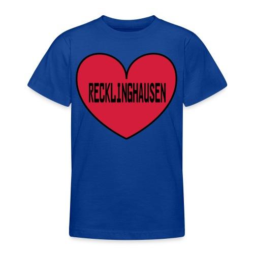 Recklinghausen Herz - Männer Kapuzenpulli - Teenager T-Shirt