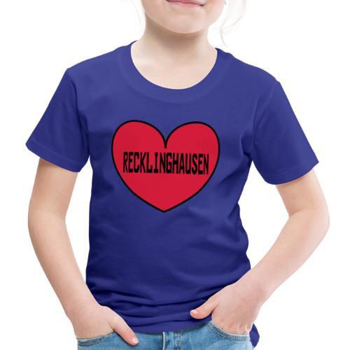 Recklinghausen Herz - Männer Kapuzenpulli - Kinder Premium T-Shirt