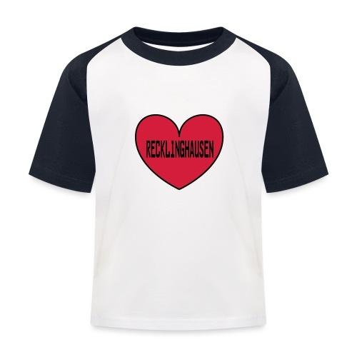 Recklinghausen Herz - Männer Kapuzenpulli - Kinder Baseball T-Shirt