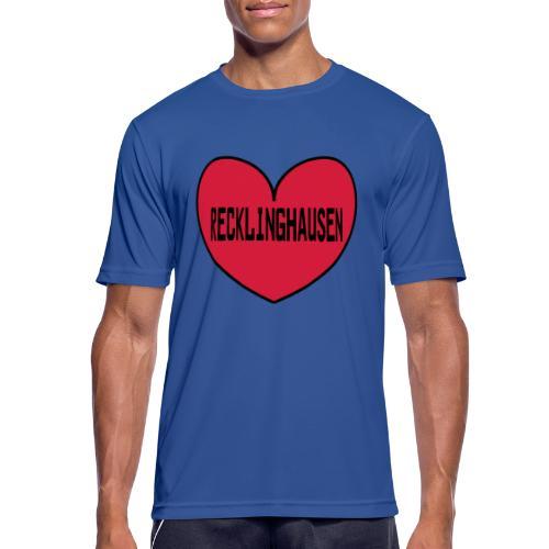 Recklinghausen Herz - Männer Kapuzenpulli - Männer T-Shirt atmungsaktiv