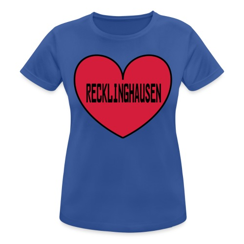 Recklinghausen Herz - Männer Kapuzenpulli - Frauen T-Shirt atmungsaktiv