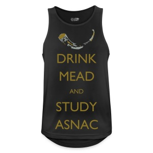 Drink Mead and study ASNC men's shirt - Men's Breathable Tank Top