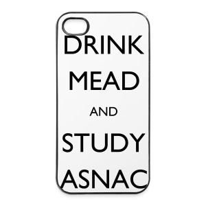 Drink Mead and study ASNC mug - iPhone 4/4s Hard Case