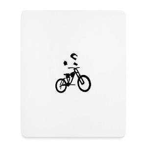 Biker bottle - Mouse Pad (vertical)