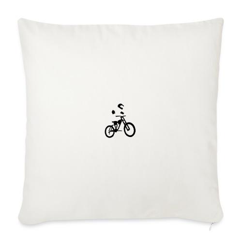 Biker bottle - Sofa pillowcase 17,3'' x 17,3'' (45 x 45 cm)