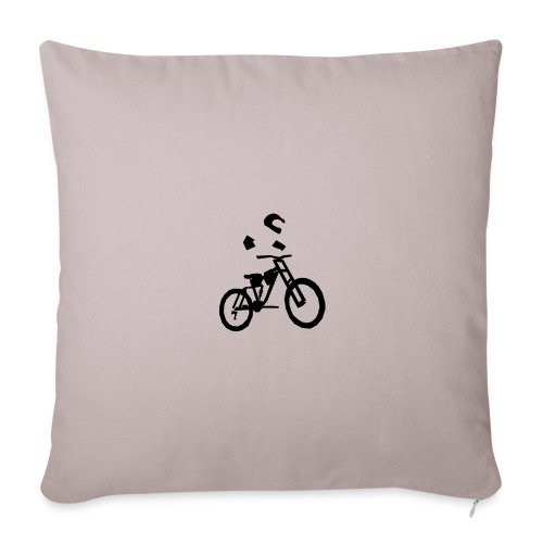 Biker bottle - Sofa pillow cover 44 x 44 cm