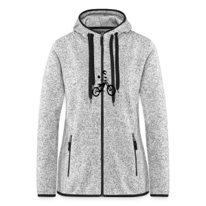 Biker bottle - Women's Hooded Fleece Jacket