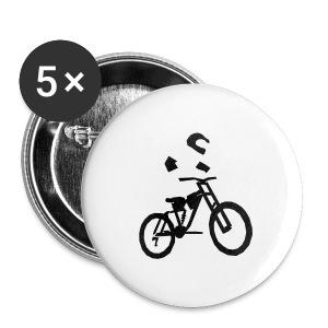 Biker bottle - Buttons medium 32 mm
