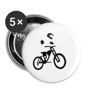 Biker bottle - Buttons small 25 mm