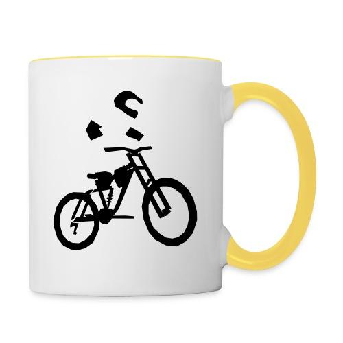 Biker bottle - Contrasting Mug