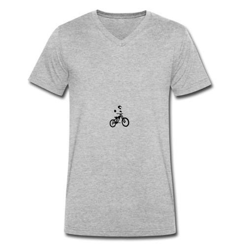 Biker bottle - Men's Organic V-Neck T-Shirt by Stanley & Stella