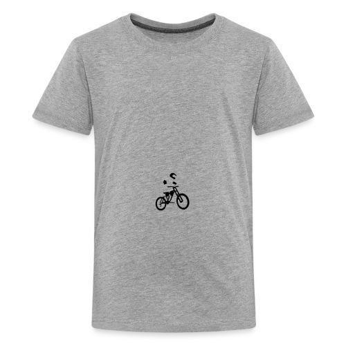 Biker bottle - Teenage Premium T-Shirt