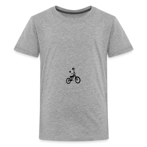 Biker bottle - Teenage Premium T-Shirt