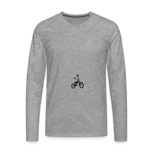 Biker bottle - Men's Premium Longsleeve Shirt