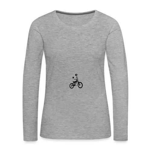 Biker bottle - Women's Premium Longsleeve Shirt